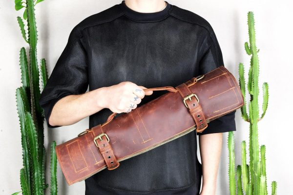 BBQ Leather Roll - 5