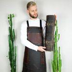Rigid Leather Apron - 0