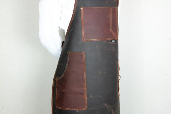 Rigid Leather Apron - 5