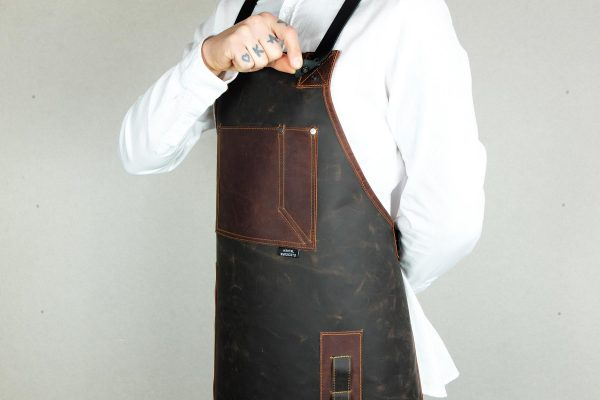 Rigid Leather Apron - 2