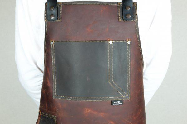 Rigid Leather Apron - 7