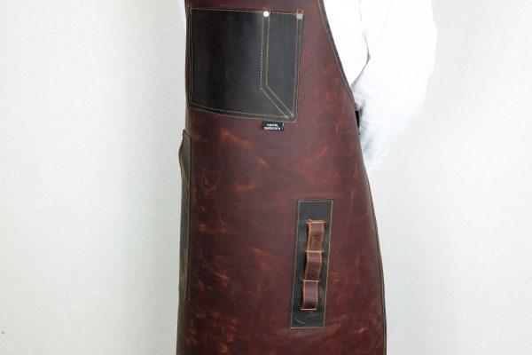 Rigid Leather Apron - 4