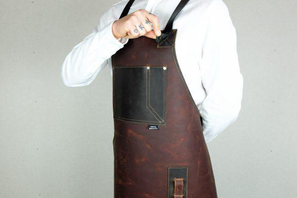 Rigid Leather Apron - 1