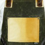 Waxed Canvas and Genuine Leather Chuck Apron ECR - 2