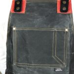 Waxed Canvas & Genuine Leather ''Chuck'' Apron RR - 6